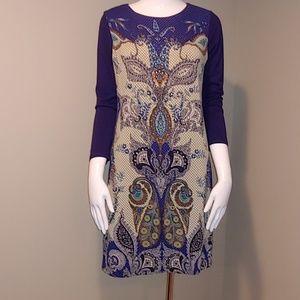 NWT Ritu Kumar Studded Paisley Dress. Size 2